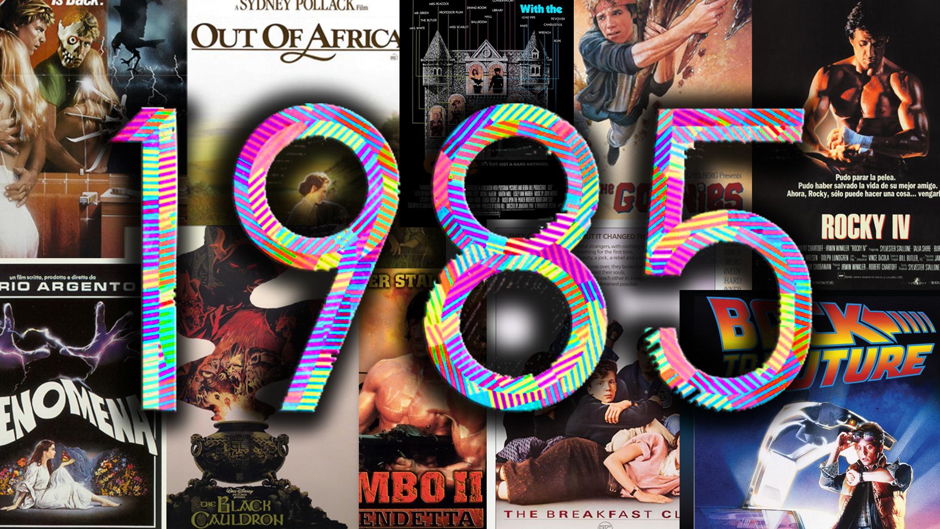 Anno 1985. Che danno stasera al cinema?