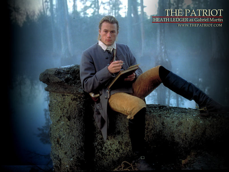 "Heath's Ledger: ""Il Patriota"""