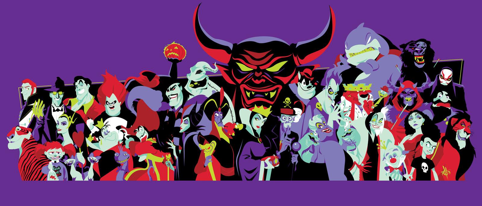 Top 10 – Disney's Villains