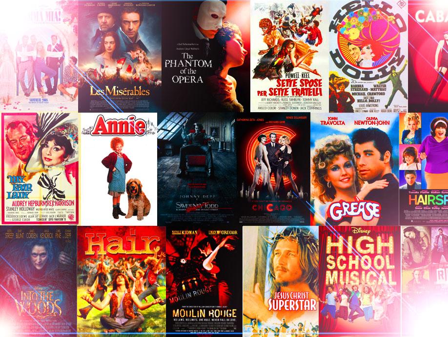 11 musical sul grande schermo da guardare e riguardare