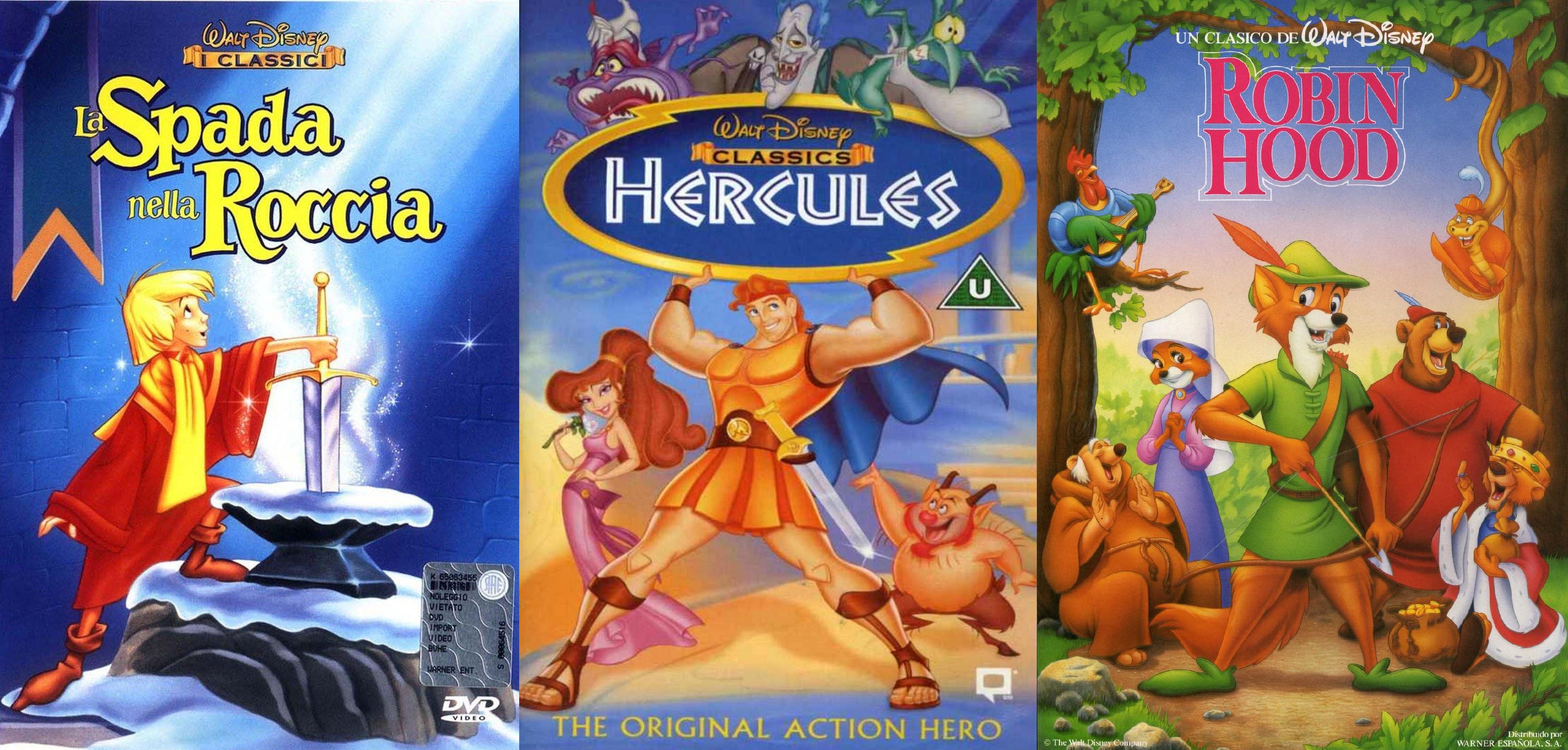 La trilogia Disney a cui (mi) è impossibile rinunciare