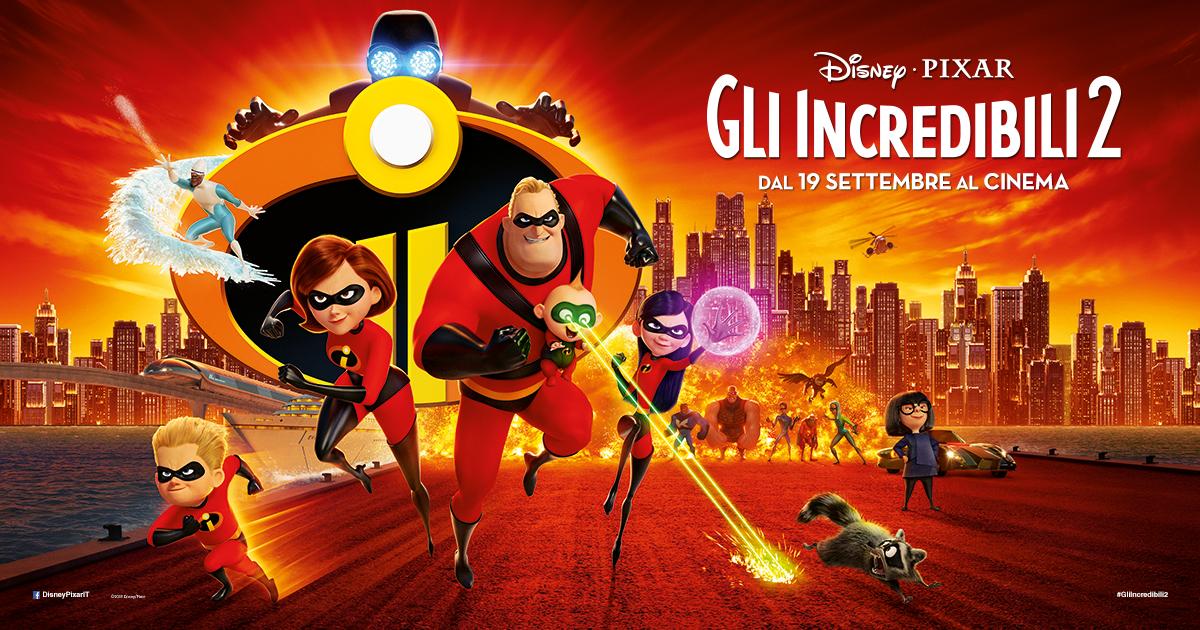 Incredibili torna al cinema la famiglia di supereroi disney