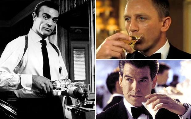 james bond martini cocktail